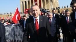 Эрдоган: Турция оставляет засобой право возобновить операцию против курдов