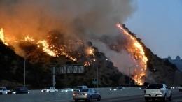 Огненный ад: экстремальный режим пожарной опасности объявлен вКалифорнии