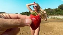 «Фантазия разыгралась!» Дарья Пынзарь ответила мужу фото сбананом