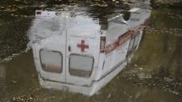Видео момента смертельного ДТП, вкоторое попало авто первого замминистра здравоохранения Крыма