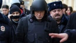 Портрет обвиняемого вубийстве историка Соколова появился вМихайловском замке вПетербурге