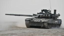 Американские военные поделились видео сиспытаний российского Т-80