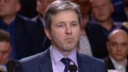 Главу «Укрэксимбанка» Гриценко похитили вКиеве наглазах уребенка