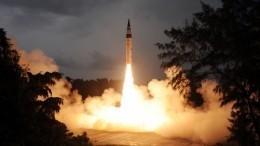 ВИндии испытали ракету, способную нести ядерный боезаряд
