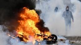 Сначала протестов «желтых жилетов» Франция потеряла 2,5 миллиарда евро