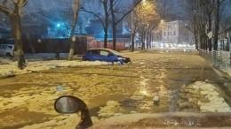 Автомобили Владивостока оказались вледяном плену