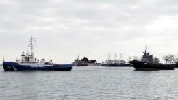 Россия передала Украине задержанные вКерченском проливе корабли