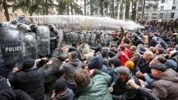 Оппозиция вГрузии несдается ипланирует новые акции