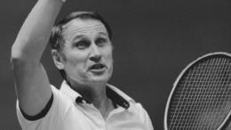 На81 году жизни скончался трехкратный чемпион СССР потеннису