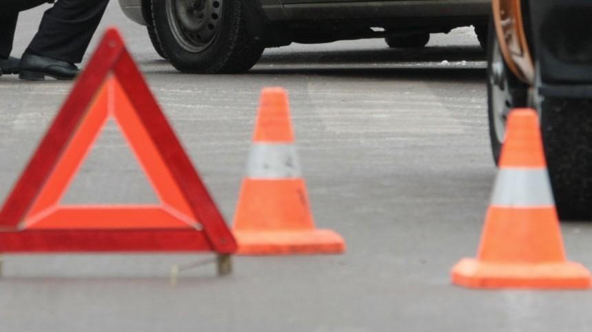 Вцентре Москвы лихач протаранил машину гендиректора «Стокманн»