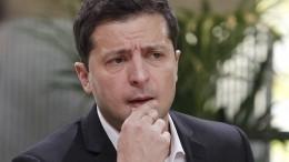 Зеленский пообещал небриться довозвращения украинских кораблей