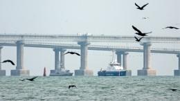 Задержанные вКерченском проливе украинские корабли прибывают вОчаков