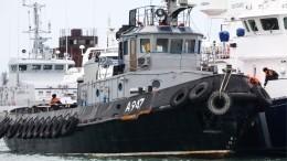 НаУкраине обвинили Россию впропаже унитазов свозвращенных кораблей