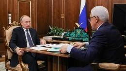 Глава Дагестана доложил Путину оросте зарплат вреспублике