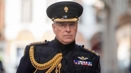 Принц Эндрю отказался отобязанностей из-за скандала сЭпштейном