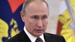 Путин подчеркнул высокий уровень отношений России иШвейцарии