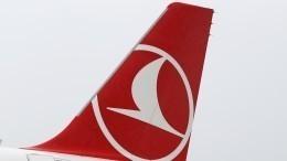 Самолет «Турецких авиалиний» аварийно сел вОдессе, пропахав носом землю