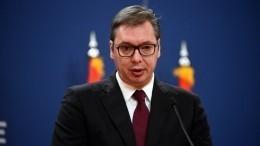 Вучич прокомментировал скандал сроссийским разведчиком вСербии