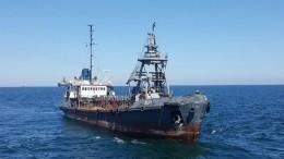Молдавский танкер терпит бедствие вОдесском заливе