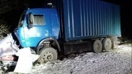 Пятеро молодых людей погибли вДТП сКАМАЗом вСеверной Осетии
