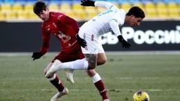 «Зенит» лидирует втурнирной таблице РПЛ после матча с«Рубином»
