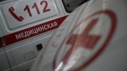 Фото сместа аварии, где погибла жена мэра Тулуна Юрия Кариха