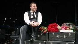 «Ондля меня— все!»: Пореченков приехал вПетербург наюбилей своего наставника