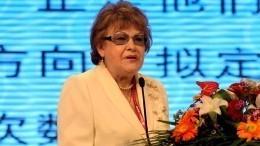 «Была учителем для всех жителей города»: Губернатор Петербурга оЛюдмиле Вербицкой