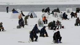 Льдина с60 рыбаками оторвалась отберега вУльяновской области