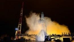 Видео: ракета-носитель «Союз-2.1в» успешно стартовала скосмодрома Плесецк