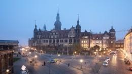 Опубликовано видео дерзкого ограбления сокровищницы Дрездена «Зеленый свод»