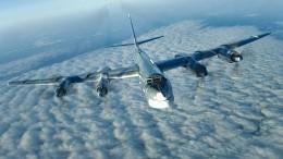 Ту-95МС пролетели над нейтральными водами Японского иВосточно-Китайского морей