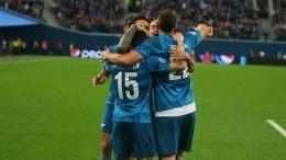 «Зенит» обыграл «Лион» вматче Лиги чемпионов