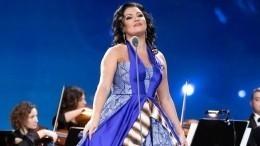 Анна Нетребко вплатье сглубоким декольте восхитила поклонников— фото