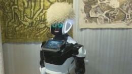 Робот проводит экскурсии вкрепости Нарын-кала вДагестане— видео