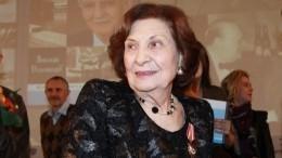Слегендарной советской разведчицей Гоар Вартанян простились вМоскве