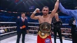 Эдгар Гукасян победил Кулву Бушира вбою затитул чемпиона WBA Asia South