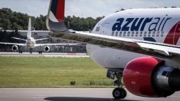 Видео: экипаж Azur Air перед вылетом попал всерьезное ДТП вДубае