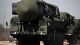 Минобороны показало кадры транспортировки новейшего ракетного комплекса «Ярс»