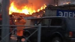 Торговый центр полыхает воВладимирской области— огненное видео