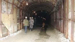 Пожар произошел назолоторудной шахте вМагаданской области