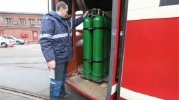 Первый вРоссии трамвай на«водородной диете» показали вПетербурге— репортаж