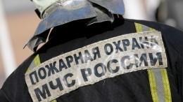Видео пожара складских помещений вКемерово