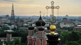 Глава Русской архиепископии Иоанн поклонился святыням Донского монастыря вМоскве