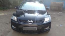 Следователи проверяют Mazda CX-7, найденную недалеко отместа убийства Эльджаркиева