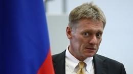 Песков пояснил, что значит «кулак Путина»