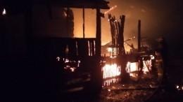 Мать идвое детей погибли при пожаре вБашкирии
