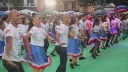 Зажигательный танцевальный рекорд Гиннесса установили вДоминикане