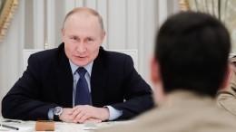 Путин заявил овоюющих против русского языка «пещерных русофобах»