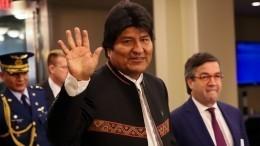 Президент Боливии чуть непогиб вавиакатастрофе наглазах нации